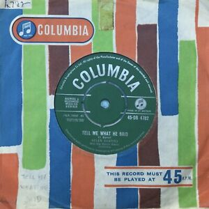 HELEN SHAPIRO 'Tell Me What He Said/I Apologise' Columbia 45