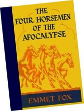 Four Horsemen of the Apocalypse EMMET FOX New Thought CHURCH DIVINE SCIENCE 1942