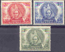 Australia 1946 SIR THOMAS MITCHELL (3) - Explorer/Map Unhinged Mint, SG 216-8
