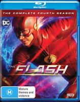 The Flash : Season 4 (Blu-ray, 4-Disc Set) NEW