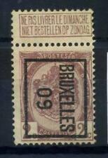 Belgique 1907 Sans gomme 100% blason 2 C