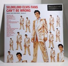 ELVIS PRESLEY 50,000,000 Elvis Fans Can't Be Wrong 180-gram VINYL LP Sealed