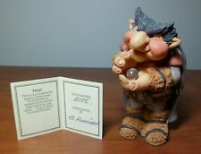 The World of Krystonia - Myzer Figurine with S&N (#698) Description Card