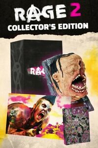Rage 2 Collector's Edition for PC with Ruckus Talking Head - Unopened