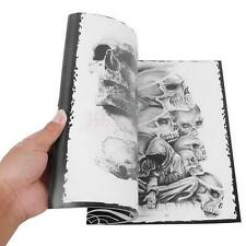 76 Pages Selected Skull Design Sketch Flash Book Tattoo Art Supplies A4 Book N