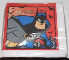 BATMAN THE ANIMATED SERIES UNIQUE 16 PACK NAPKINS SEALED VINTAGE