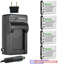 Kastar Battery Travel Charger for Kodak KLIC-7006 K7006 & Kodak Easyshare M552