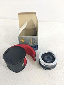 E5 Soligor Auto Tele Converter 2X Extender for Yashica Contax - Very Nice!!!