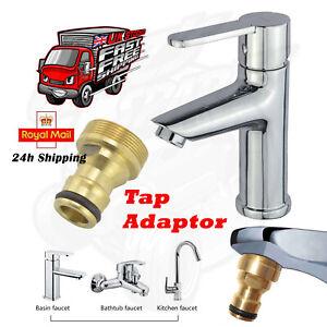 Kitchen Tap Connector Mixer Garden Hose Pipe Adaptor Joiner Hot Tub UK Seller