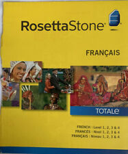 Rosetta Stone French Level 1-4