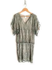 COLLETTE DINNIGAN!!! Divine 'Collette Dinnigan' metallic lace dress