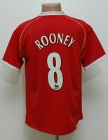 MANCHESTER UNITED 2006/2007 HOME FOOTBALL SHIRT #8 ROONEY NIKE SIZE M ADULT