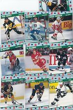 1991 Score Hockey NCWA Convention-10 Card Set, Wayne Gretzky,Yzerman, Roy,Hull,