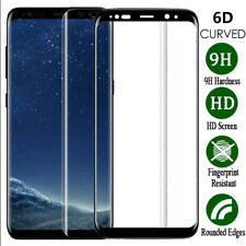 9H Full Tempered Glass Film 6D Screen Protector For Samsung Galaxy S6 S7 S8 S9