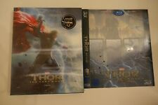 Thor The Dark World 3D Blu-ray Steelbook [Korea] KimchiDVD Lenti Slip  W/ Slip