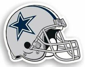 """Dallas Cowboys Helmet NFL Licensed BIG Team Magnet 12"""" Vinyl Car Auto Emblem New"""