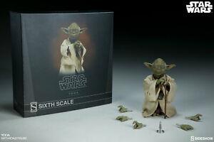STAR WARS Sideshow - Yoda Sixth Scale Figure NEW