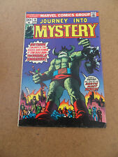 Journey Into Mystery (vol 2)  10 . Marvel 1974 . FN