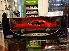 1:18 Motor Max 1969 Pontiac GTO Judge DAMAGED PACKAGE JC