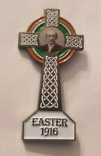 Thomas Clarke Badge Irish Republican 1916 Easter Rising leader Celtic Cross Tom