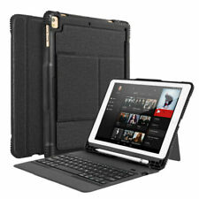 """For iPad 2018/2017 6th/5th Gen 9.7""""Bluetooth Keyboard Shockproof Hard Case Cover"""