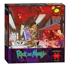 Rick and Morty Puzzle 550 Piece New 2016