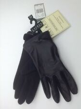 Women's Ralph Lauren Black Leather, 70% Wool, 10% Cashemire Gloves  L $48 MSRP