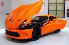 G 1 24 Scale CHRYSLER Dodge Viper SRT 2013 GTS Maisto Diecast Model Car Orange