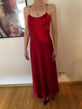 Coctailkleid Hochzeitskleid Hochzeit Event edel neuwertig rot lang S M