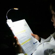 USB Rechargeable & Solar Power LED Light Outdoor Clip-on Desk Table Reading Lamp