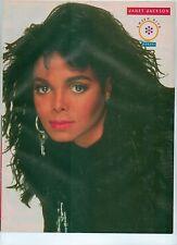 "JANET JACKSON key earring magazine PHOTO / Pin Up /Poster 11x8"""