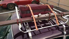 Leitz Roof Rack Leather Luggage Tire Belts Hand Made Straps PORSCHE 911 & 912
