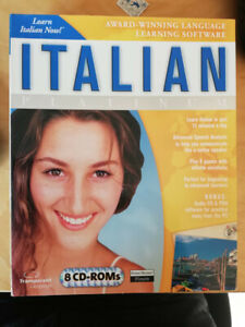 Encore learn italian now 8 cd roms transparent language learning