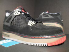2009 NIKE AJF IV 4 AIR JORDAN FORCE 1 BLACK CEMENT GREY FIRE RED STEALTH BRED 10