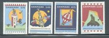 Denmark Sc 1041-44 1996 Cartoon View of Copenhagen stamp set mint NH
