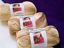 NEW Red Heart Boutique Unforgettable Yarn 3- 3.5oz. Skein Same Dye Lot CAPPUCINO
