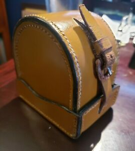 Hardy Vintage Block Leather Reel Case for Hardy Perfect or St George