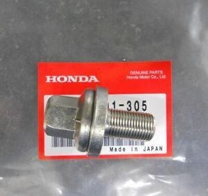 Genuine OEM Honda Civic CRX Del Sol Crank Pulley Bolt Washer Set 14X29 SOHC VTEC