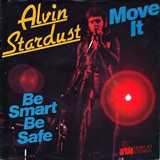 """7"""" Alvin Stardust – Move It/BE Smart be safe // Germany 1975"""