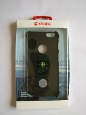 Krusell Malmo Texture Cover Case For iPhone 6 Plus / 6s Plus - Black - New