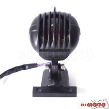 Black Motorcycle Tail Light Lamp Rear Brake Aluminum For Harley Chopper Bobber