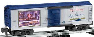 """discontinued 2010 6-48389 Lionel American Flyer """"Flyer Fantasy"""" S Gauge Boxcar"""