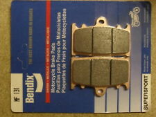 BENDIX 131-MF BERINGER 4 FOUR PISTON CALIPER PERFORMANCE SINTERED FRONT PADS