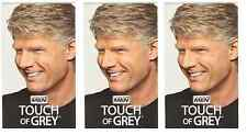 Just for Men Touch of Gray, Hair Treatment, Light Brown-Gray T-25 (3 Pack)