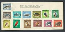 1968 Guyana First Day Cover New Definitive Issue Fish Birds Animals FDC
