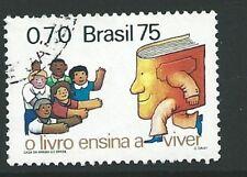 Il Brasile SG1562 1975 GIORNO DEL LIBRO BENE USATO