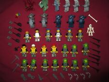 LEGO Atlantis Minifigures Lot. Sea Creatures,32  total figures & weapons