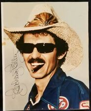 RICHARD PETTY Signed 8x10 Photo STP NASCAR Racing Pic vtg HOF Auto