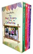 Enid Blyton Magic Faraway Tree Collection 4 Books Box Set Enchanted Wood Folk
