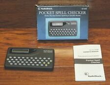RadioShack (63-930) Pocket Spell Checker of 30,000 Words w/ Built in Calculator!